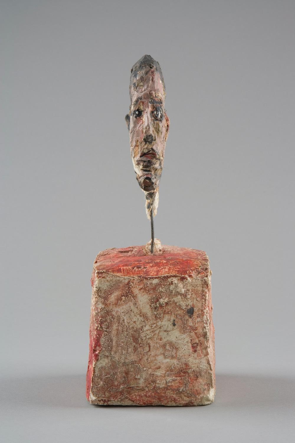 Hlava-muze-na-podstavci-alberto-Giacometti