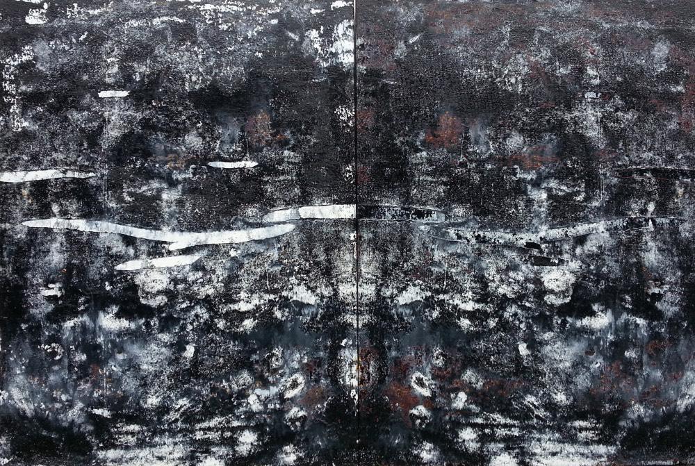 patri-habl-aukce-Black-Composition-Diptych