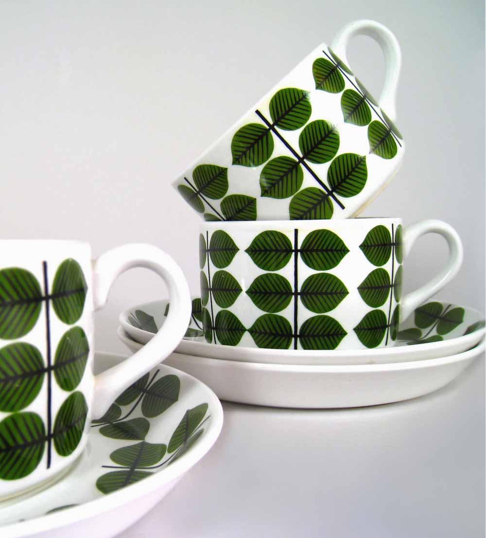 Porcelán Gustavsberg
