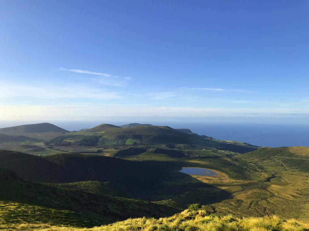 Pohled zhory Morro Alto