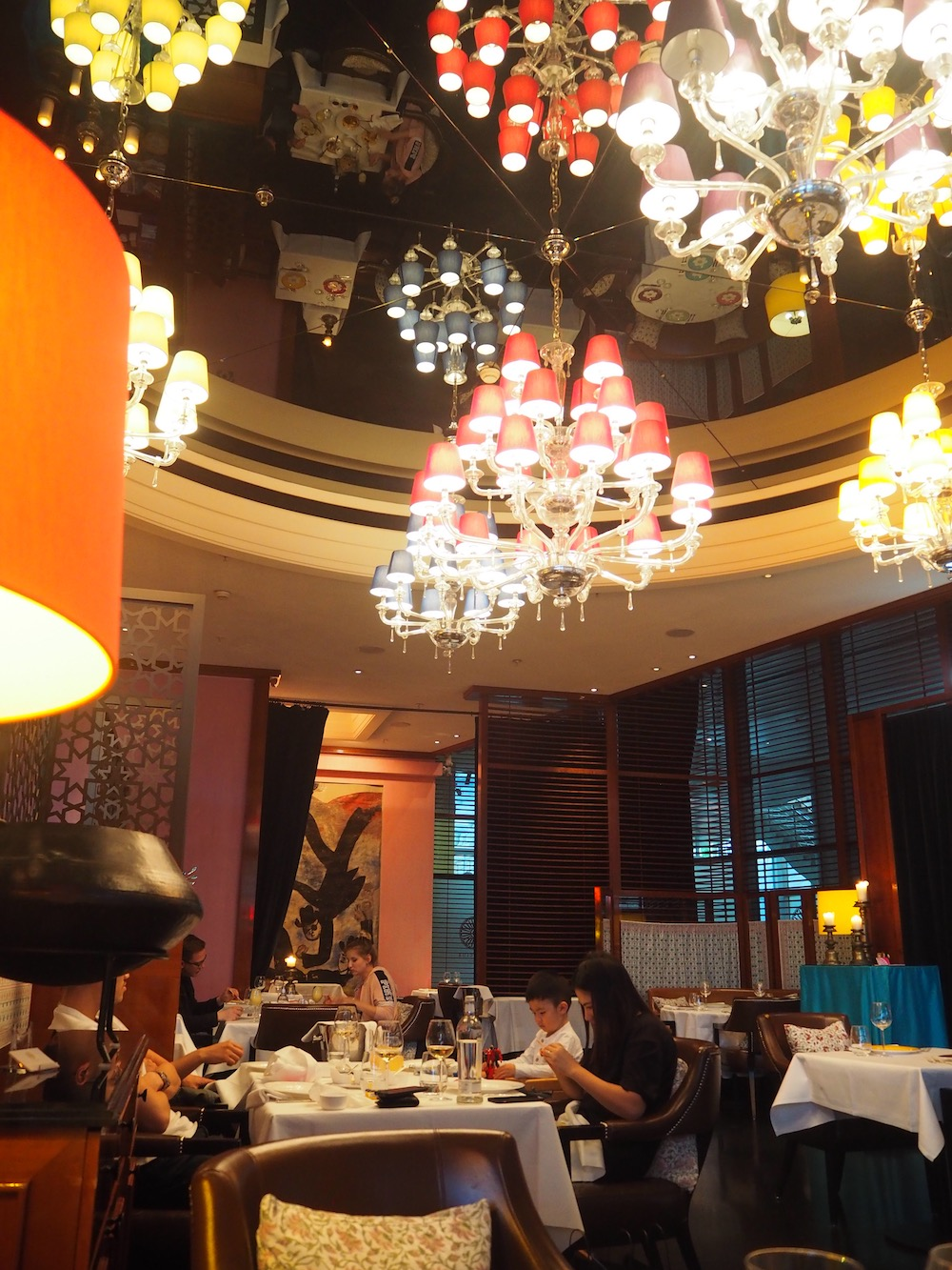 Indická restaurace vBerlíně