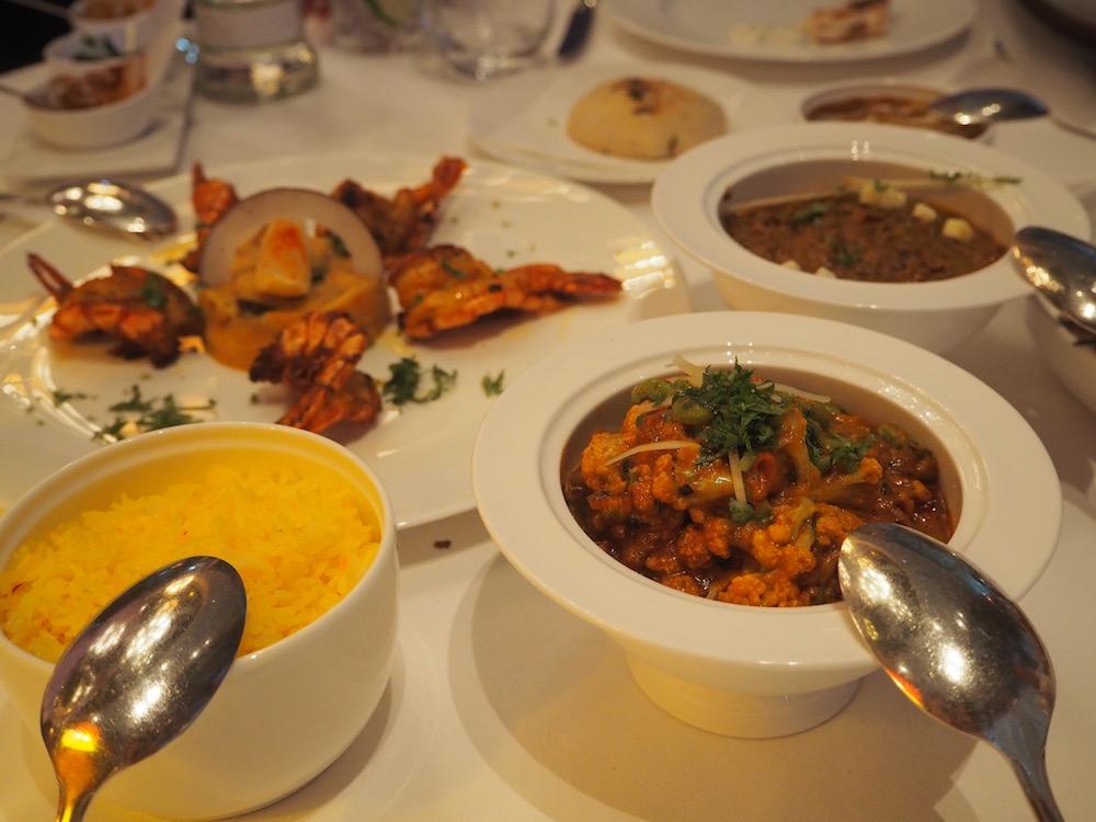 Indické jídlo vrestauraci