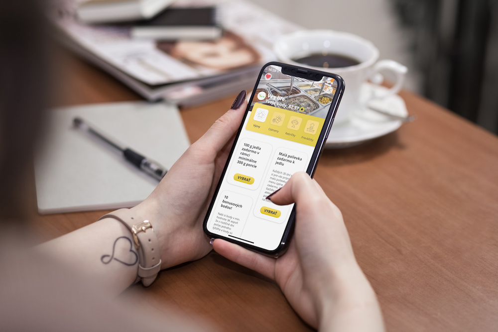 Mobilní aplikace TRIFFT
